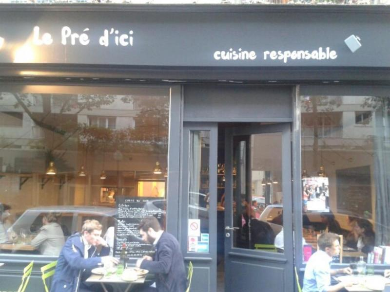 Le pr d 39 ici restaurant bio et engag paris for Restaurant miroir paris 18